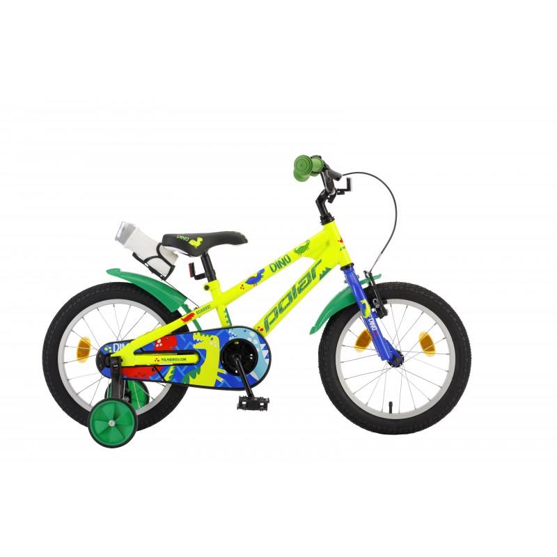 Велосипед POLAR JUNIOR 14 Дино зеленый