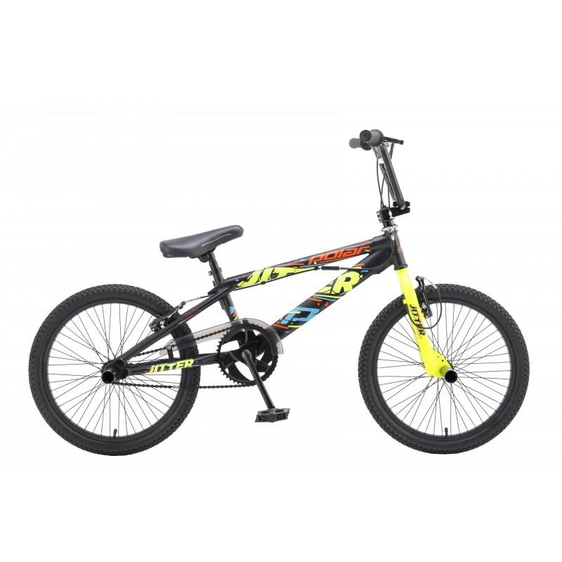 Велосипед POLAR JITTER (черный-зеленый)