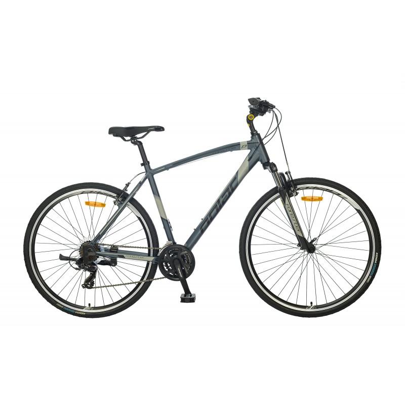 Велосипед POLAR FORESTER COMP PRO (черный-серебристый) размер XL