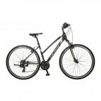 Велосипед POLAR FORESTER COMP ZENSKI (черный-серебристый) размер L