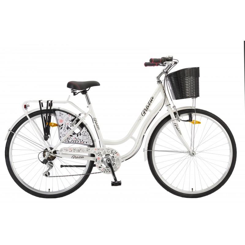 Велосипед POLAR GRAZIA 28 6-скоростей (белый)