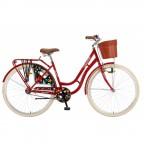 Велосипед POLAR GRAZIA 28 (бордовый)