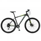 Велосипед POLAR TSUNAMI (черный-флуоресцентный зеленый) размер L