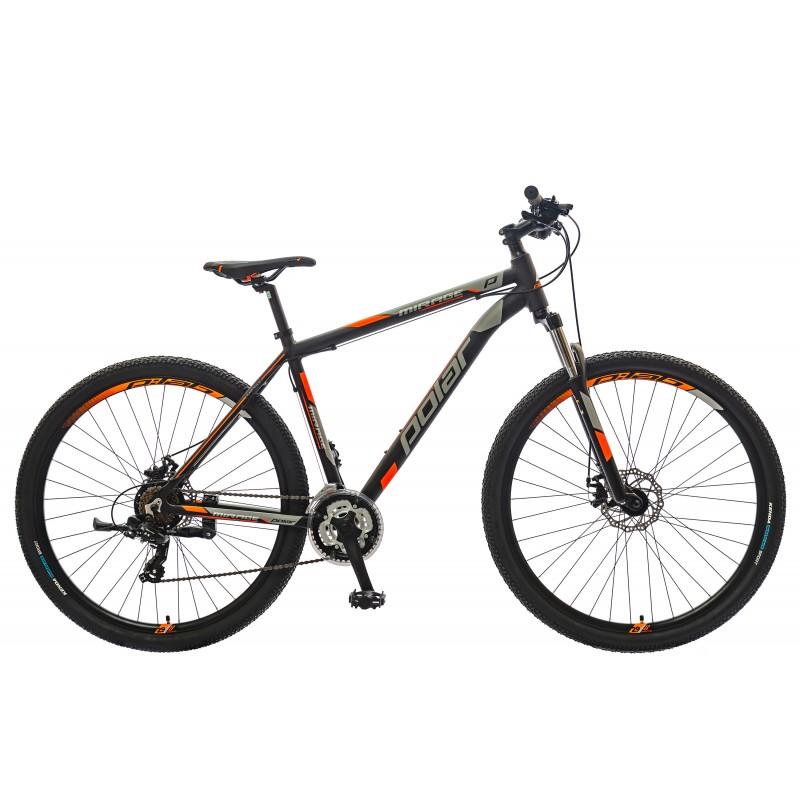 Велосипед POLAR MIRAGE SPORT (черный-серый-оранжевый) размер XL