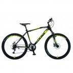 Велосипед POLAR WIZARD 2.0 (черный-флуоресцентный желтый) размер XL