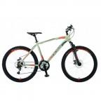 Велосипед POLAR WIZARD 2.0 (серебристый-оранжевый) размер ХL