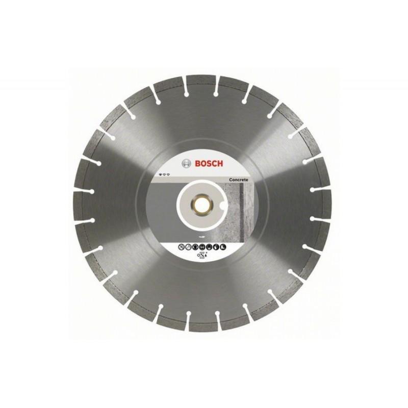 Диск алмазный отрезной Standard for Concrete BOSCH 400-20/25,4 мм