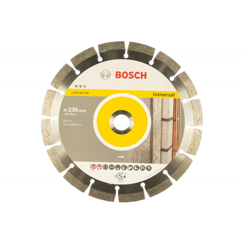 Диск алмазный BOSCH Expert for Universal 230х22.23 мм