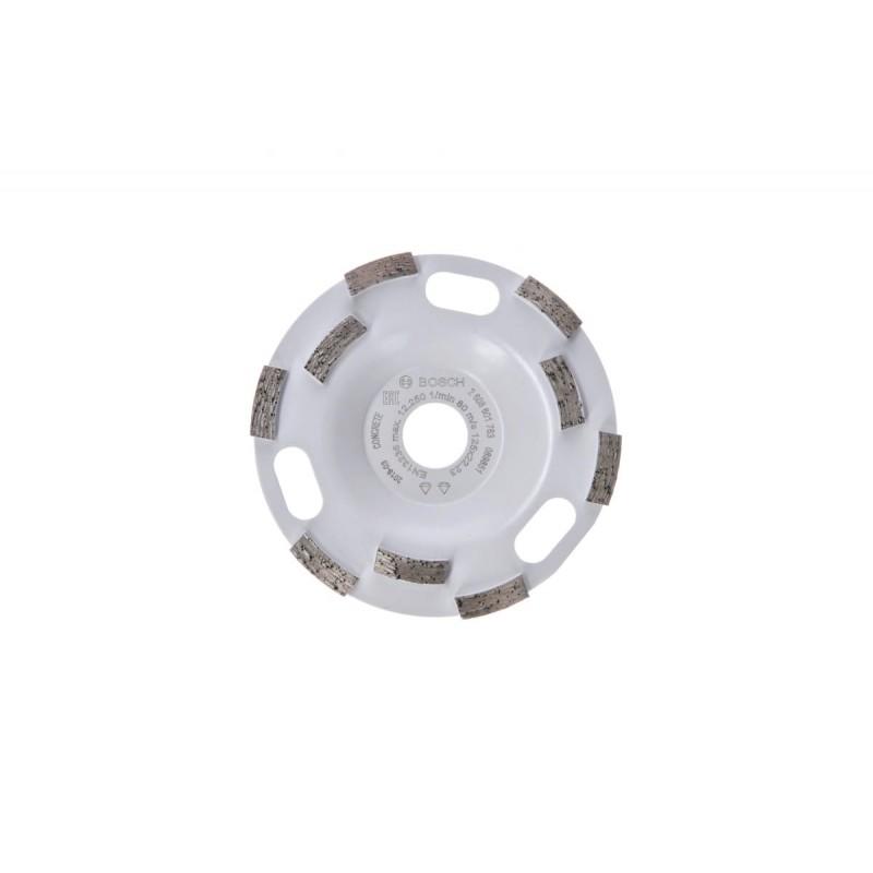 Алмазная чашка Expert for Concrete Aquarius Fast Removal BOSCH 125x22,2x5мм