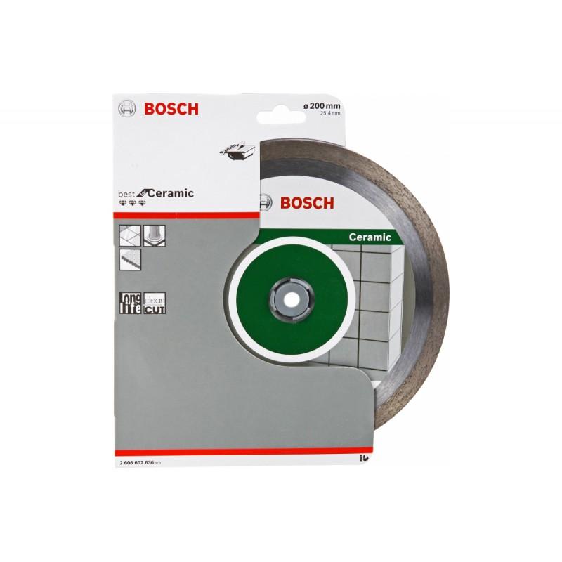 Диск алмазный Best for Ceramic BOSCH 200х25.4 мм
