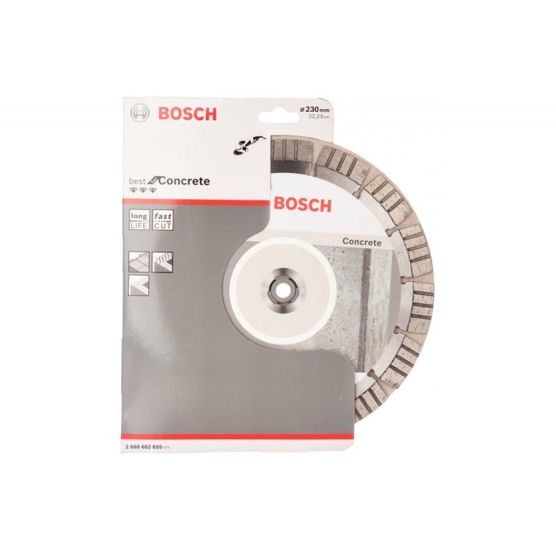 Диск алмазный Best for Concrete BOSCH 230х22.23 мм