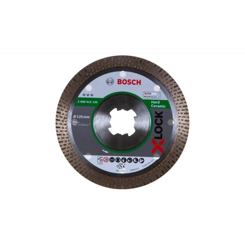Диск алмазный Best for Hard Ceramic X-LOCK BOSCH 125х22.23 мм