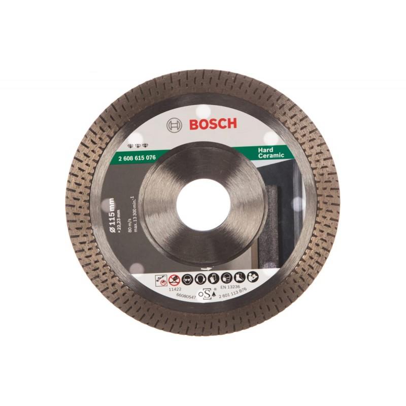 Диск алмазный Best for HardCeramic BOSCH 115х22.23 мм