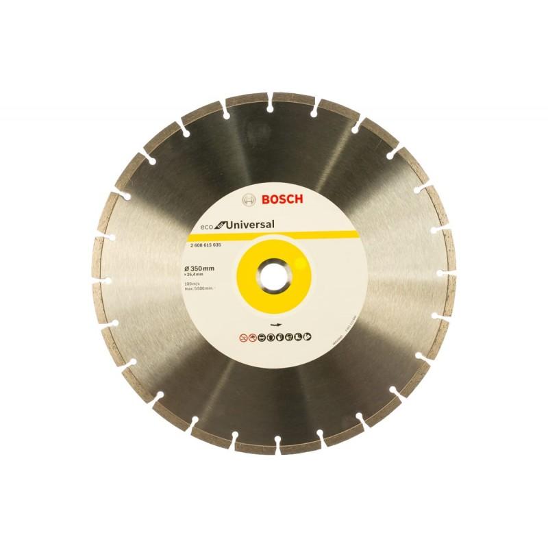 Диск алмазный ECO Universal BOSCH 350х25.4 мм
