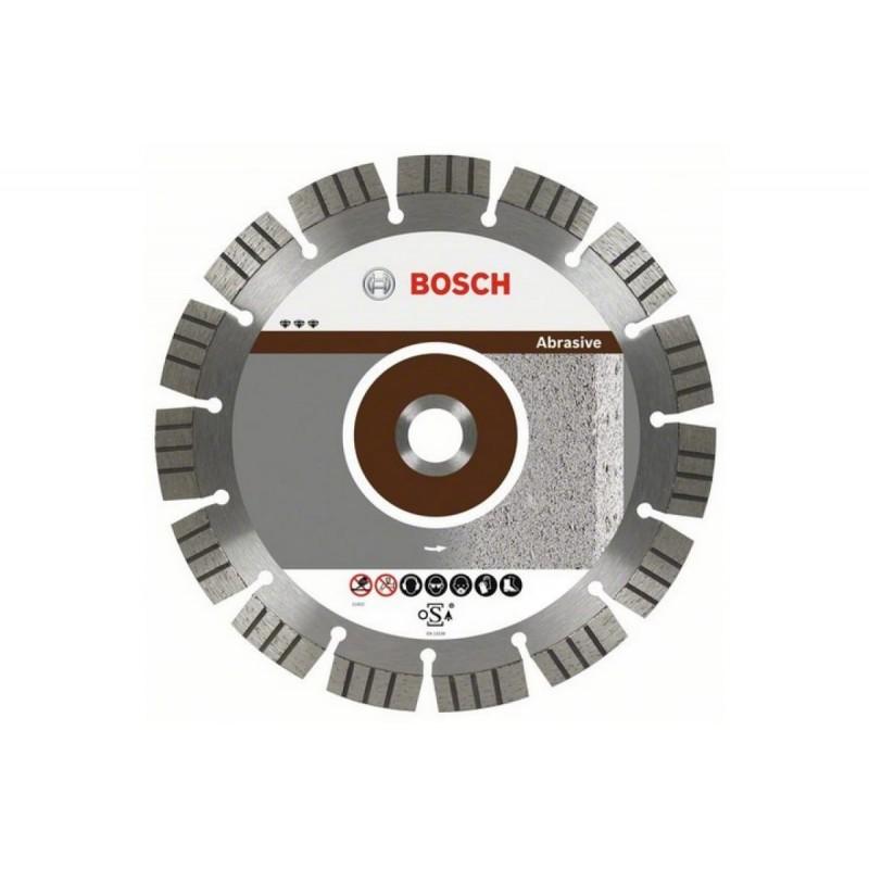 Диск алмазный отрезной Best for Abrasive для УШМ BOSCH 125х22.2 мм
