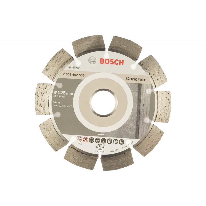 Диск алмазный отрезной Expert for Concrete BOSCH 125x22.23мм