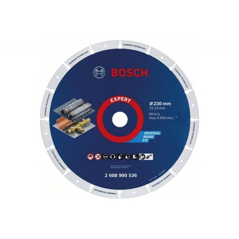 Диск алмазный по металлу Standard BOSCH 230*22,23 мм