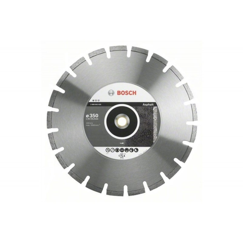 Диск алмазный Professional for Asphalt BOSCH 350х20/25,4 мм