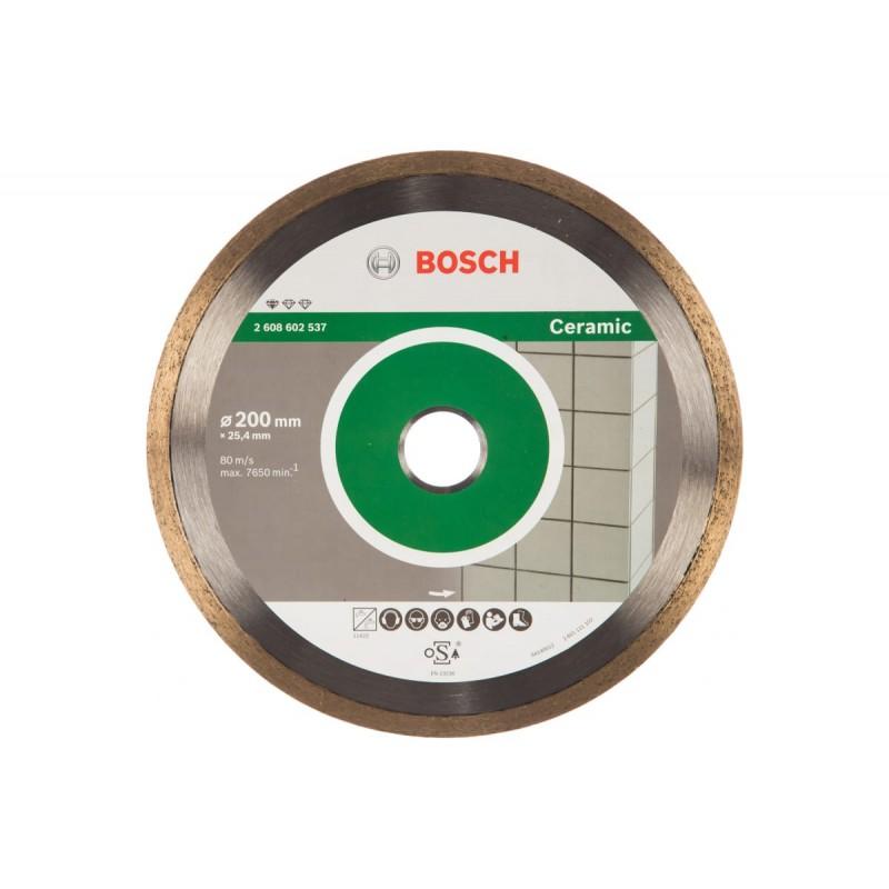 Диск алмазный Professional for Ceramic BOSCH 200х25.4 мм