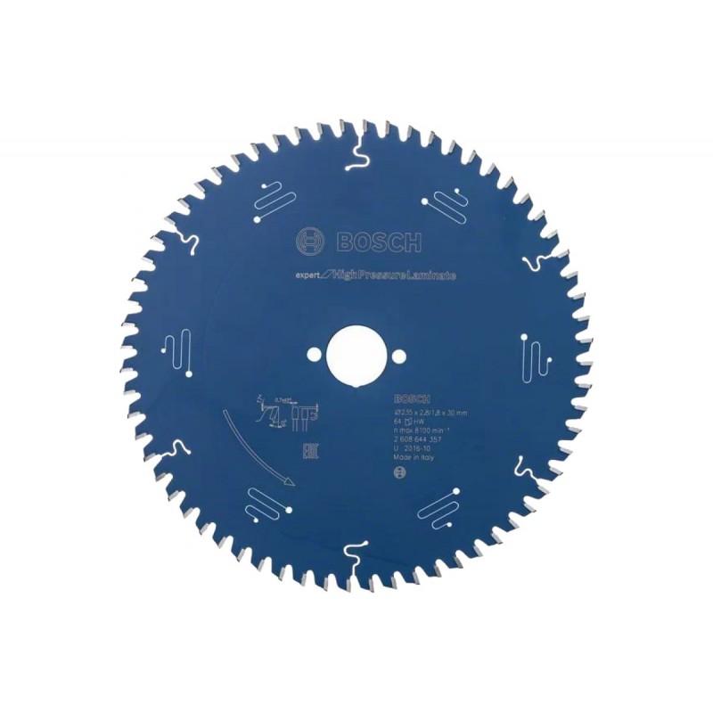 Диск пильный BOSCH Expert for High Pressure Laminate 235x30x2.8/1.8x64T