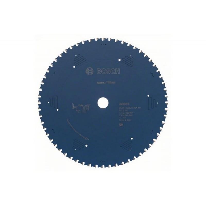 Диск пильный BOSCH Expert for Steel 305x25,4 Z60