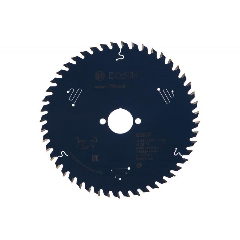 Диск пильный по дереву BOSCH Expert for Wood 190x30x2.6/1.6x48T