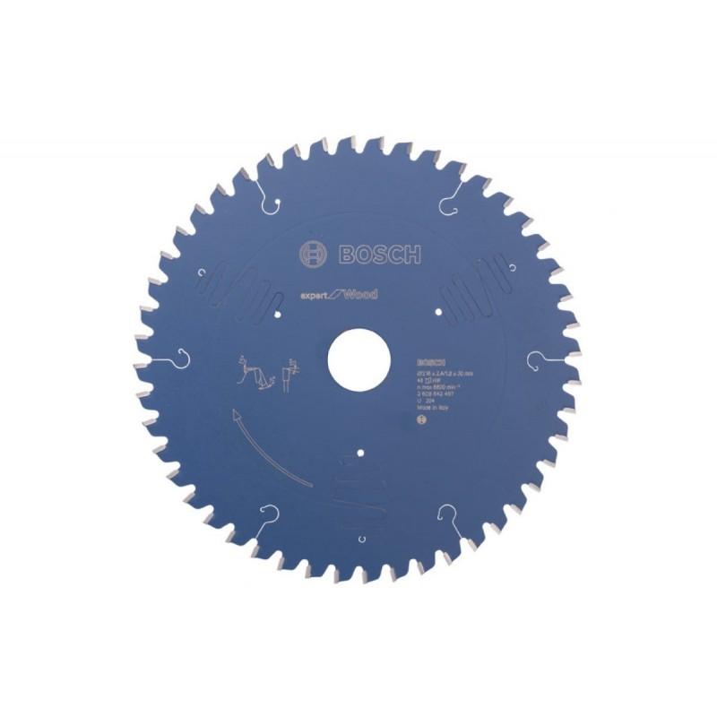 Диск пильный по дереву BOSCH Expert for Wood 216x30x2.4/1.8 48T ATB neg