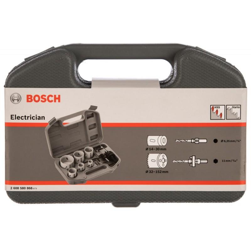 Набор биметаллических коронок Standard BOSCH 9 шт