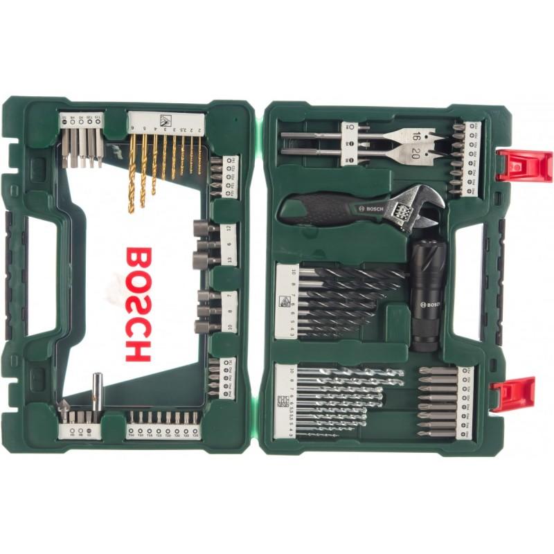 Набор принадлежностей Bosch V-Line-83 в дисплее