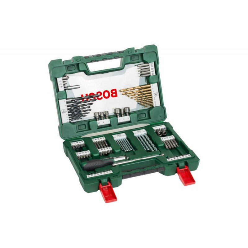 Набор принадлежностей Bosch V-Line-91 в дисплее