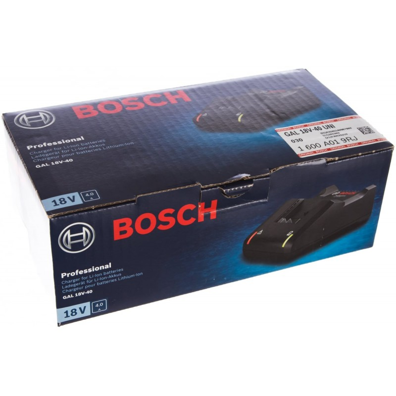 Зарядное устройство аккумуляторное BOSCH GAL 18V-40