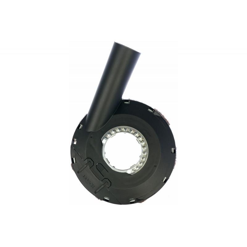 Защитный вытяжной кожух пылесос 115/125 мм для УШМ BOSCH