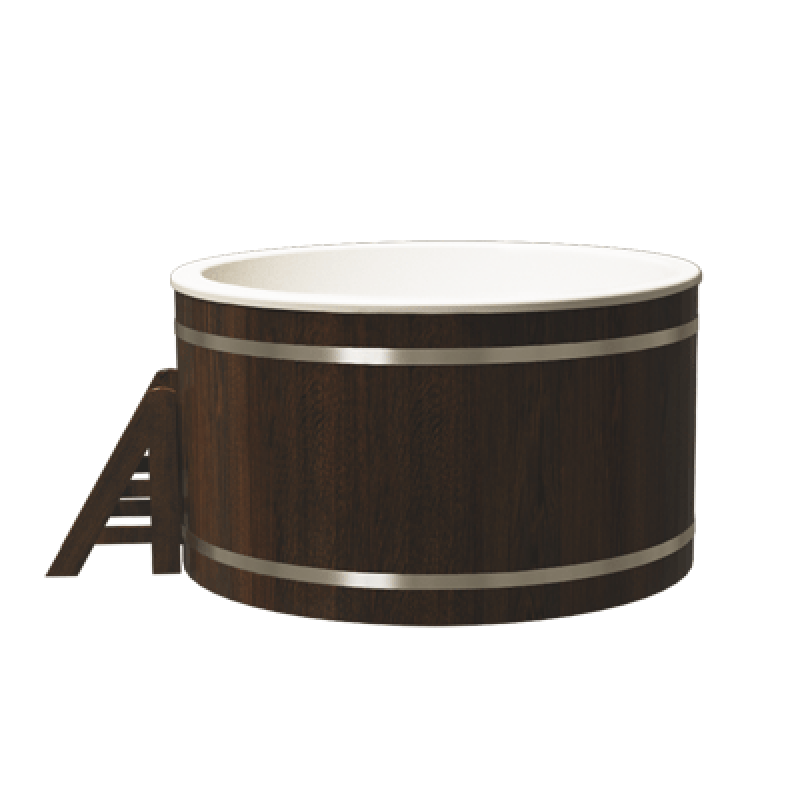 Купель композитная круглая Классик Термоясень