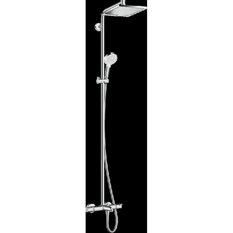 Душевая стойка с термостатом Hansgrohe Crometta E 240 1jet, 27298000