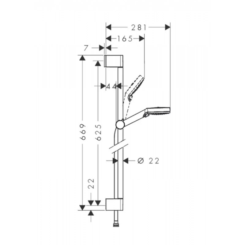 Комплект смесителей Hansgrohe Logis E, SetLogisE100C