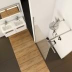 Душевая стенка Ravak Walk-In Wall, GW9WJ0C00Z1 + GWD01000A094