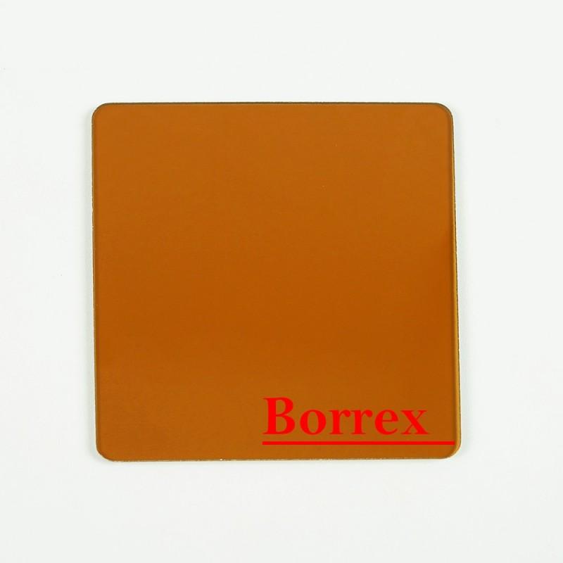 Монолитный поликарбонат 8 мм бронза «Borrex»