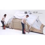 Кемпинговая палатка Quechua Air Seconds 4.2 Fresh&Black