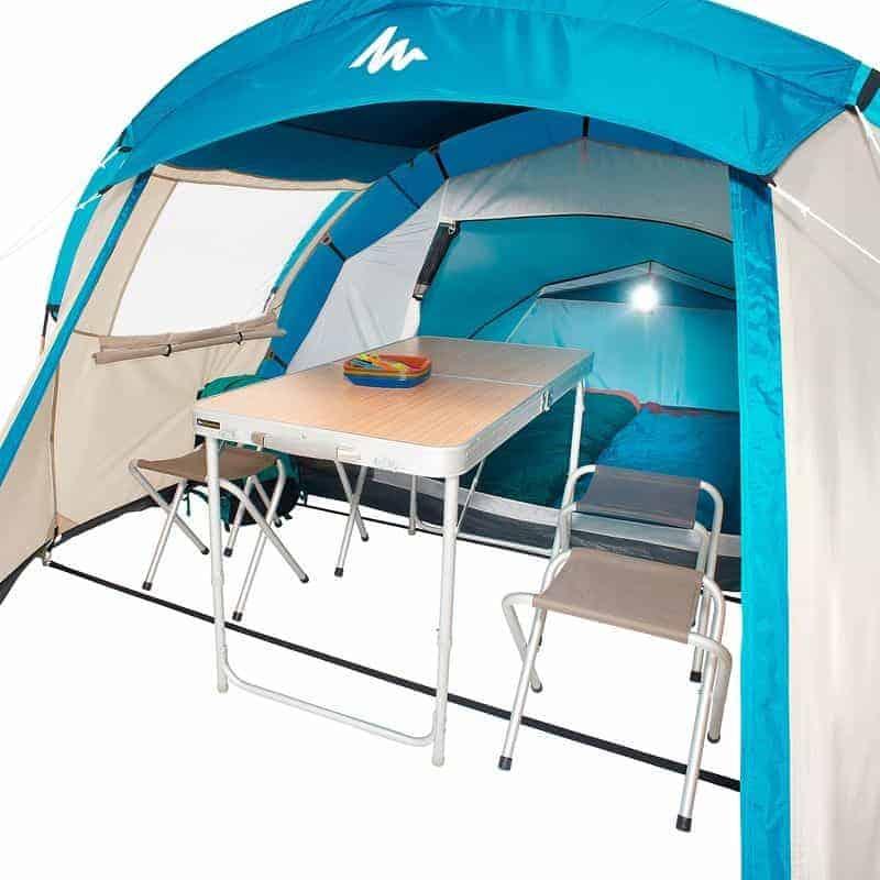 Кемпинговая палатка Quechua Arpenaz 4.1