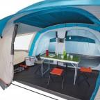Кемпинговая палатка Quechua Arpenaz 5.2 Fresh&Black