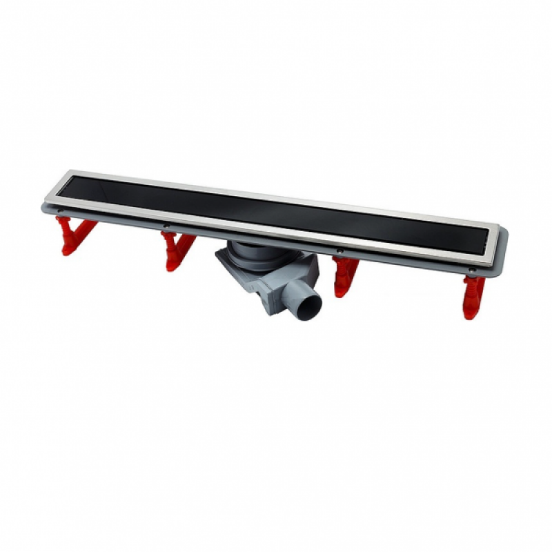 Душевой лоток Pestan Confluo Premium Black Glass Line 750, 13000294