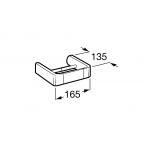 Держатель для туалетной бумаги без крышки Roca Select, 816307001