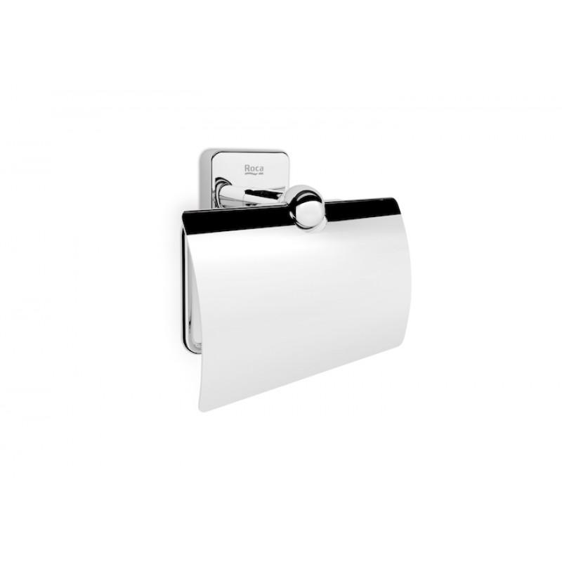 Держатель для туалетной бумаги с крышкой Roca Victoria, 816662001