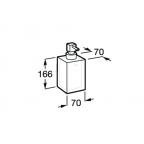 Дозатор для мыла Roca Ice, 816861013