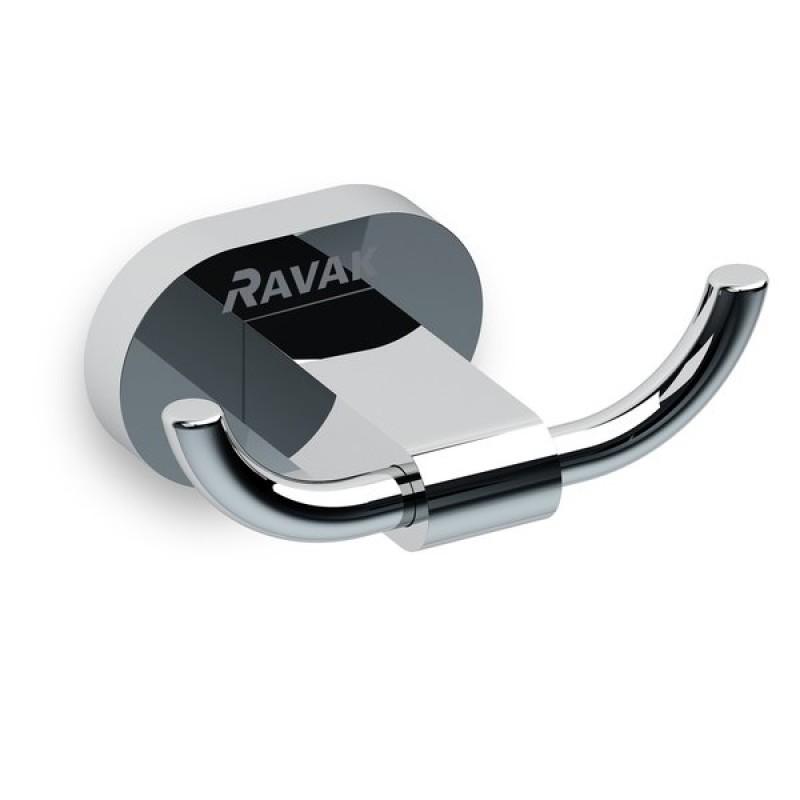 Двойной крючок Ravak CR 100.00, X07P186