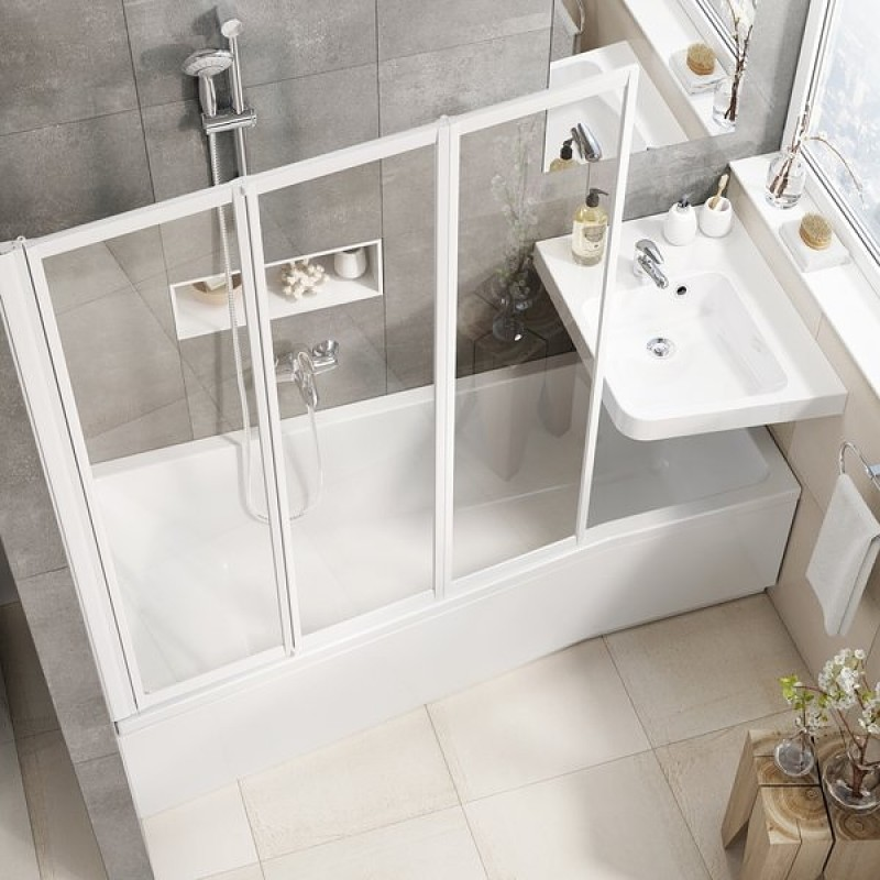 Ванна акриловая Ravak BE HAPPY II R, C991000000