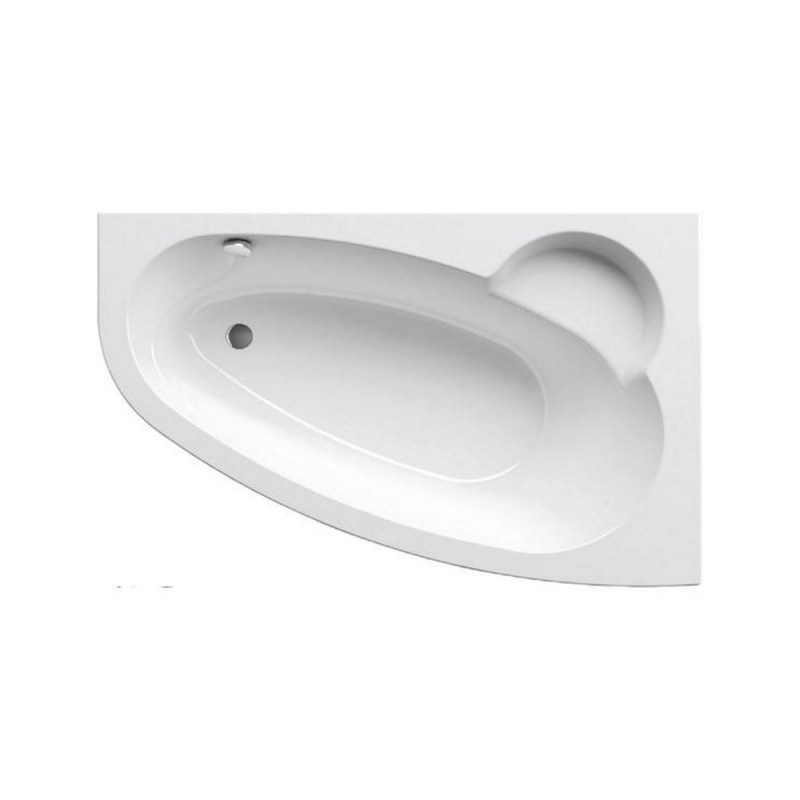 Ванна акриловая Ravak Asymmetric R, C451000000