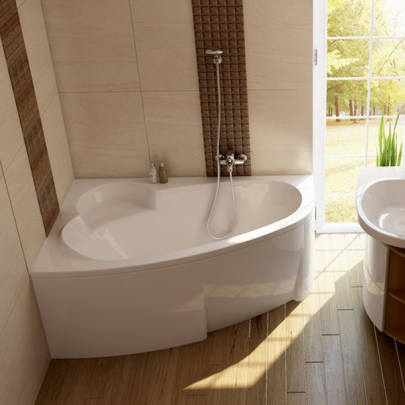 Ванна акриловая Ravak Asymmetric R, C491000000