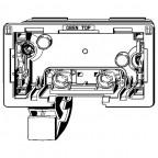 Загрузочная емкость для унитазов Viega Prevista, 773366