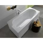 Ванна квариловая Villeroy&Boch Oberon 170x75, с ножками, без отв перелива